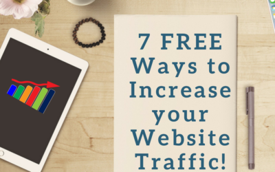 7 FREE Ways to Get More Website Traffic & Leads